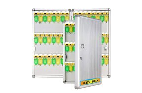 KEY BOX ALUMINUM CABINET